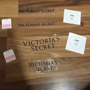 Vs and pink labels!